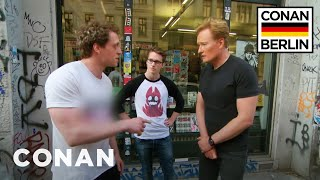 Conan Gets An In-Person Fan Correction From A German Super Fan  - CONAN on TBS