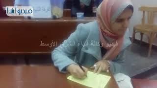 #x202b;بالفيديو: إقبال كبير على انتخابات الإتحادات الطلابية بجامعة بنها#x202c;lrm;