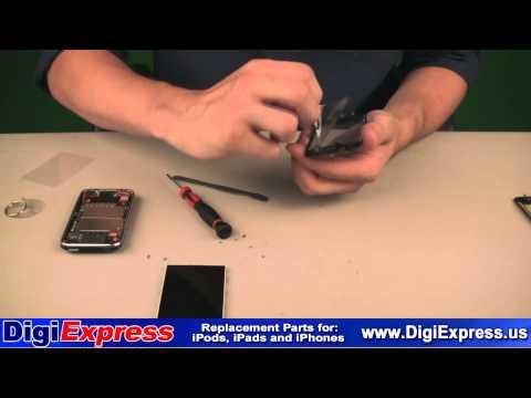 DigiExpress - iPhone 3G 3GS Glass Digitizer Screen Panel Replacement