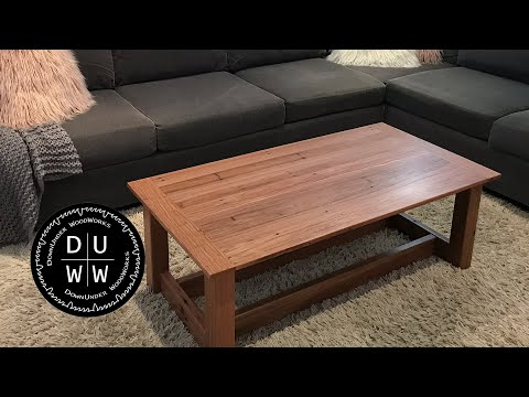 Coffee table build - Part 2 - It's done