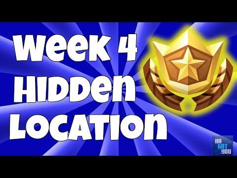 Free Battle Star Location Week #4 (Secret Blockbuster Challenge Coordinates)