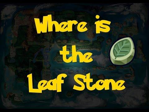 Where Is: The Leaf Stone (Pokemon Alpha Sapphire/Omega Ruby)