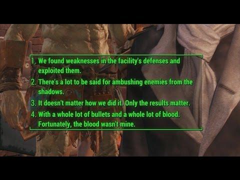 Fallout 4: NewDialog mod