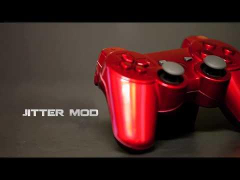 Red Chrome Playstation 3 Modded Controller - Gamerzicon.com