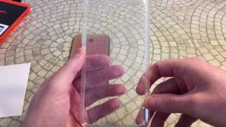 Spigen Liquid Crystal Glitter HTC U11 Case Unboxing and Review