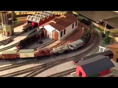 Hornby Dublo trains on my layout