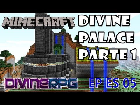 Divine Mountain Palace Parte 1 ~ Time-Lapse Construction on Minecraft with DivineRPG MOD (Survival)