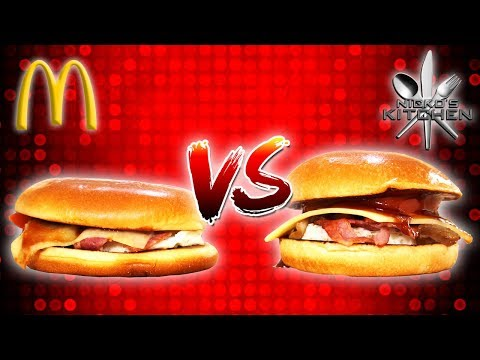 McDONALDS BREAKFAST vs HOMEMADE - So bad we take the food back!!