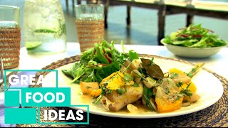 How To Make Leatherjacket With Eschalot And Garlic Sauce | Food | Great Home Ideas
