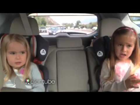 Ellen's Nieces Eva and Perry Sing 'Roar'