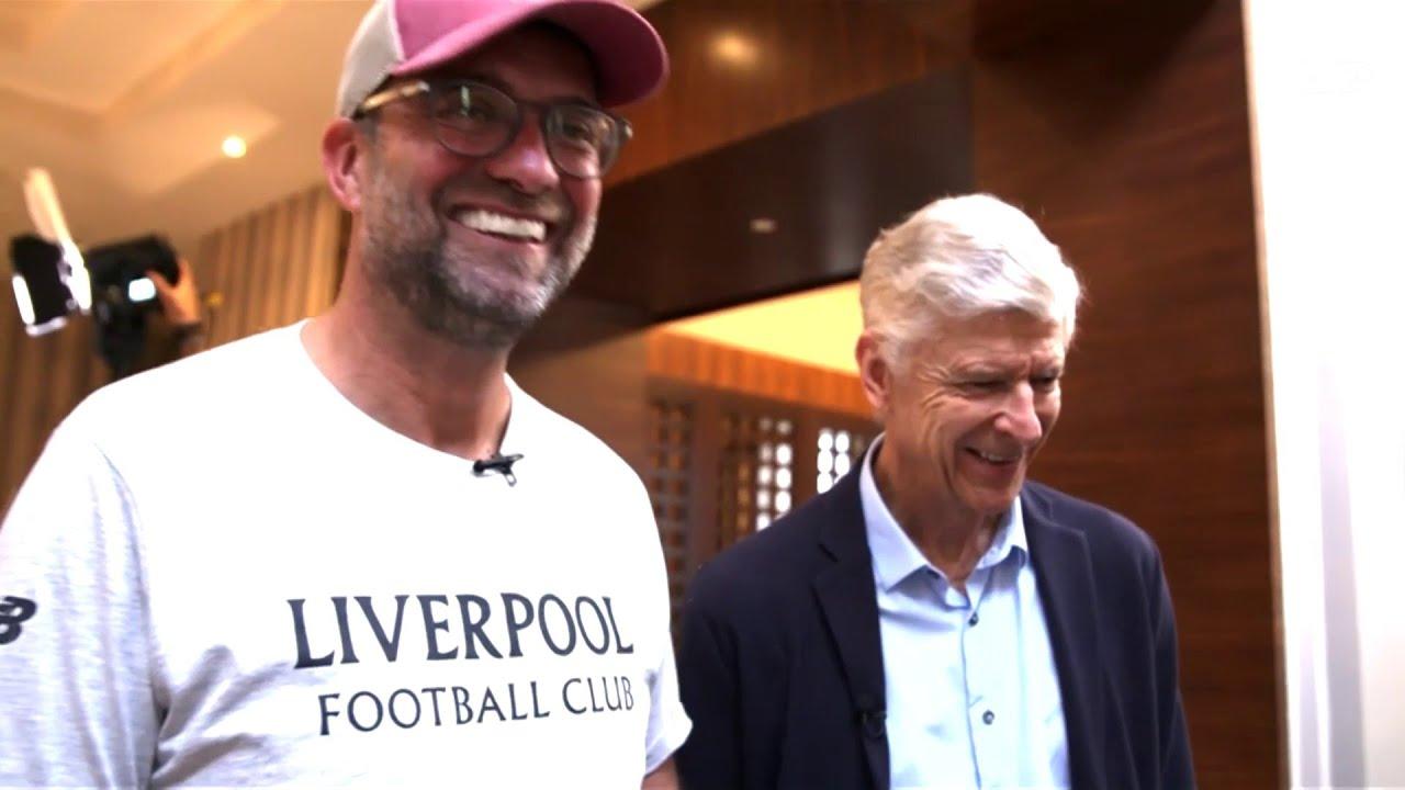 Jurgen Klopp and Arsene Wenger in conversation | beIN Exclusive