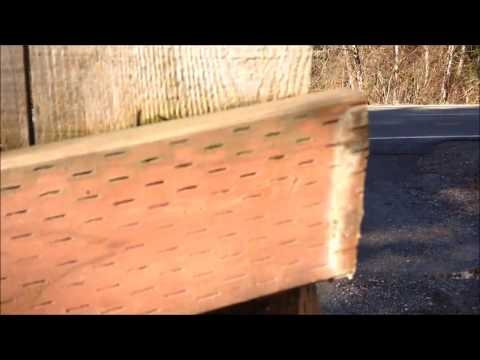 How to DIY Fence Post Replacement Repair 4 X 4 X 8 Cedar Treated