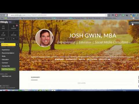 How to Build an Online Resume from Your LinkedIn Profile