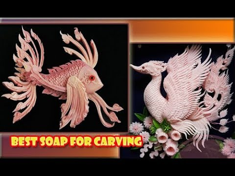 Amazing Crafts Carving Soap, Best In The World – How To Make Soap Craft