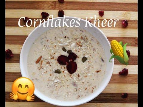 Cornflakes Kheer | Pudding