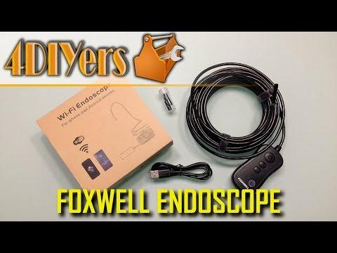 Review: Foxwell 1080P Wireless Borescope Endoscope
