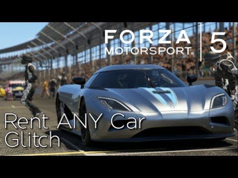 Forza Motorsport 5 - How to Rent ANY Car Glitch (Free Play Mode)