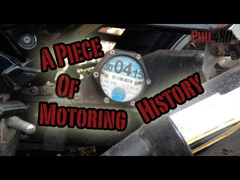 A Piece Of Motoring History