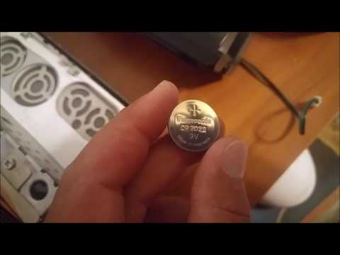 How to Replace 3V CR2032 Battery Inside Dell Studio One 1909 Tabletop PC