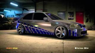 Need for Speed™_2015 First Fast n Furious honda Civic