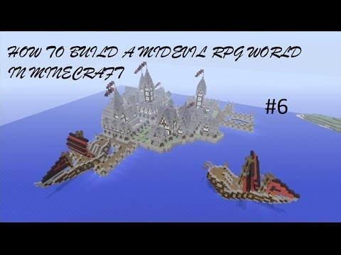 How to build a Medieval RPG World in Minecraft - Episode 6 ( Xbox 360 )