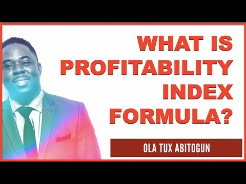 What is profitability index formula? 3Ps X 3Cs = Sustainable Profits