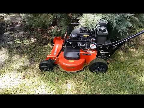 Mowing With The Toro Turfmaster August 2017