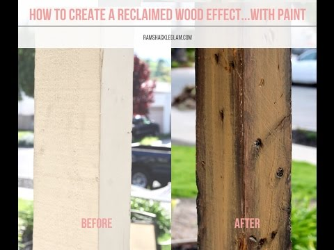 DIY Reclaimed Barn Wood