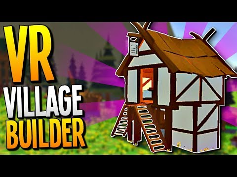 BUILDING THE BEST DWARVEN VILLAGE IN VIRTUAL REALITY - Guiding Hand VR Gameplay - VR HTC Vive