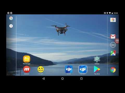 DJI Go - How to modify flight parameters for FCC mode