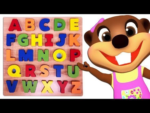 Kids Learn Colors & ABCs with Alphabet Phonics Puzzle Toy | Teach ABC Song & Rhymes for Children