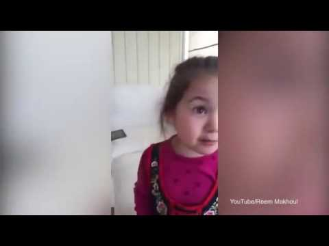 AMAZING  Adorable girl refuses to eat meat because she likes animals