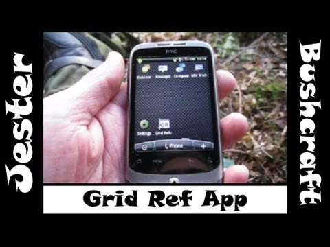 Bushcraft - Grid Reference Mobile Phone App