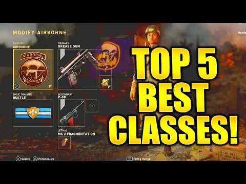 WORLD WAR 2 BEST CLASS SETUP! COD WORLD WAR 2 BEST DIVISION SETUPS WORLD WAR 2 BEST CLASS SETUPS!