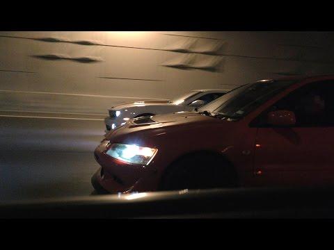 FP Black Evo, H/C CTSV, supercharged Camaro, & more - EPIC TUNNEL RACING!
