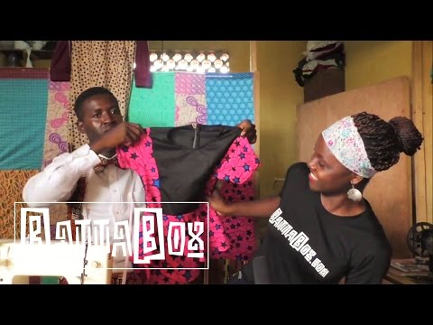 Nigeria Fashion: How to make cloths in 30 minutes