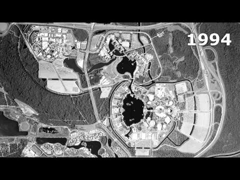 EPCOT and Hollywood Studios Time Lapse - 1978-2012