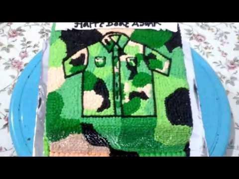 Soldier Uniform Army Cake