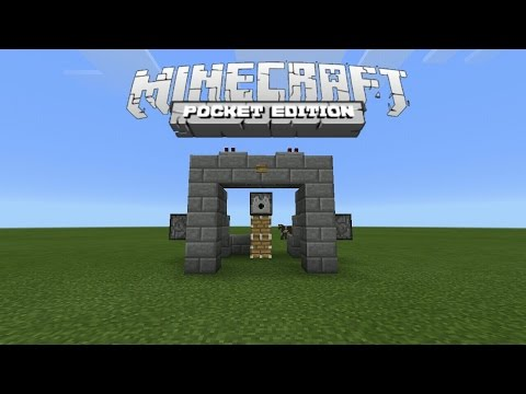 How To Make Automatic Iron Golem Maker in MCPE