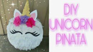 Como Hacer Piñata De Unicornio Paso A Paso Super Facil 22