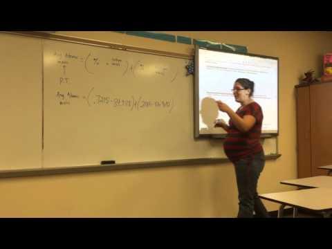 Lecture 10-16-15- Calculating Average Atomic Mass and Percent Abundance