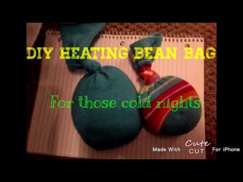DIY Heated Bean Bag!