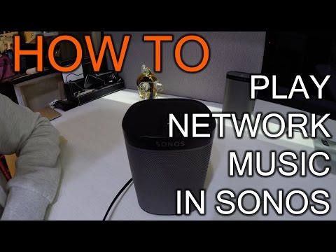 How To Play Music From Your Nas Over Sonos
