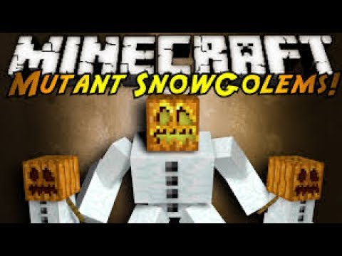 How to build a Snow Golem in Minecraft Pe
