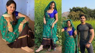 Ganv Ka खाना सरसों का खेत Aur Lugai ❤️ | pure desi Village life | Royal Shakti Vlogs |