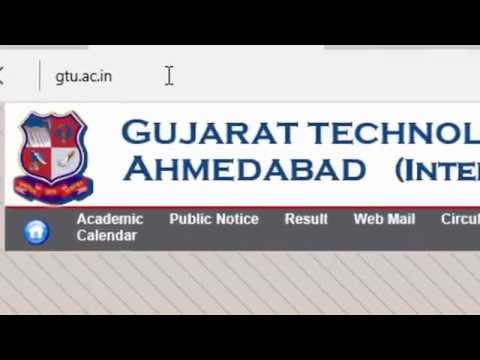 gtu result name wise summer winter sem 1st 2nd 3rd 4th