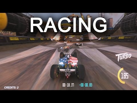 Stunt Racing on Trackmania Turbo's Most Difficult Race Tracks