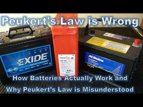 Peukert's Law is Wrong and Here's Why - Part 1 of 3