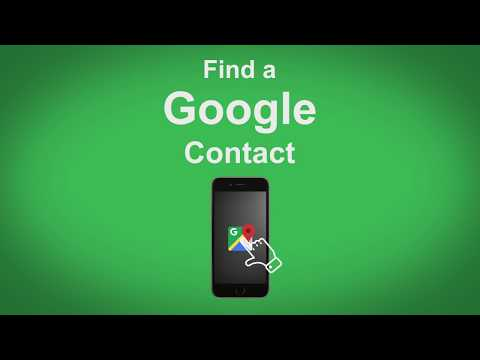 Google Maps   Find A Google Contact