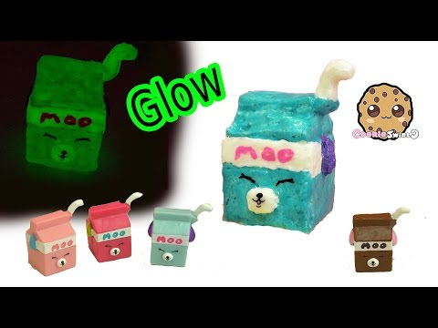 DIY Glow In The Dark Squishy Shopkins Season 4 Petkins Inspired Craft Do It Yourself by Cookieswirlc